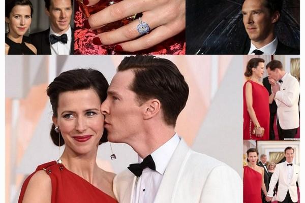 Benedict Cumberbatch & Sophie Hunter - A2zWeddingCards