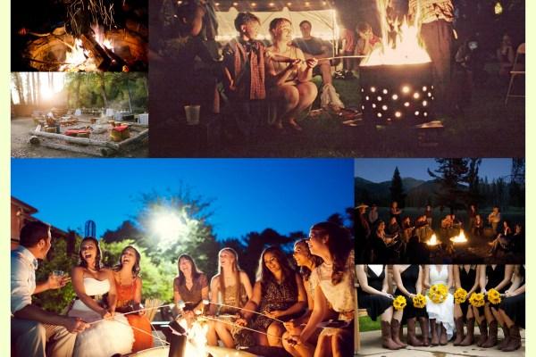Cow Boy Wedding Campfire - A2zWeddingCards