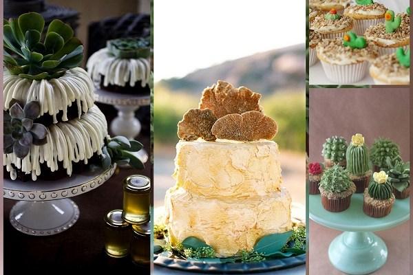 Desert Wedding Cake - A2zWeddingCards