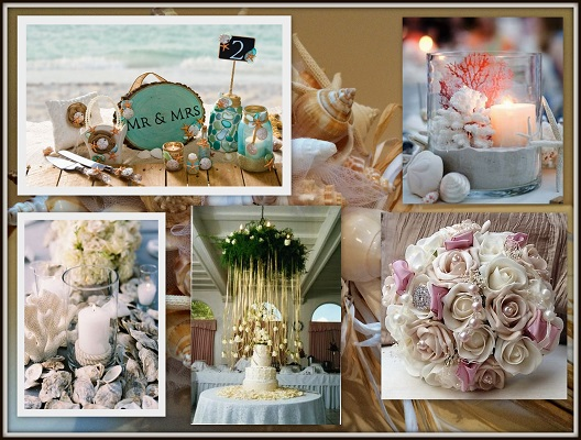 Oyster Pearl Wedding Decor-A2zWeddingCards