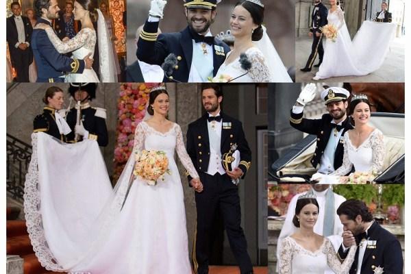Prince Carl Philip & Princess Sofia Hellqvist  - A2zWeddingCards