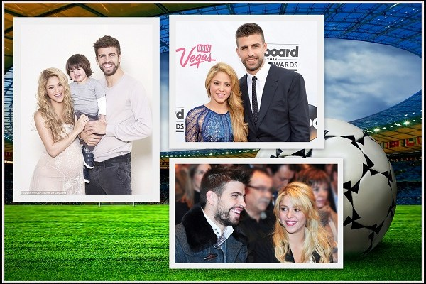 Shakira and Gerard Pique -A2zWeddingCards