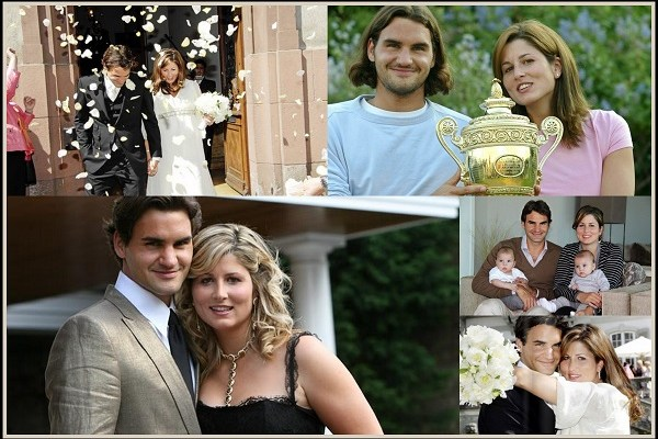 Mirka Federer and Roger Federer - A2zWeddingCards
