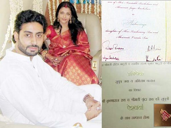 Aish and Abhi Wedding Invitations - A2zWeddingCards