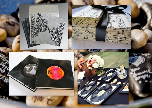 Rock your Big Day with these Musical Theme Wedding Ideas - Wedding Invitations