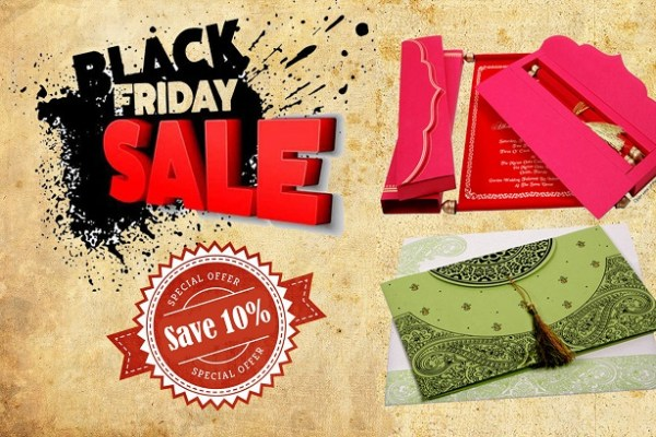 Black Friday 2015 - A2zWeddingCards