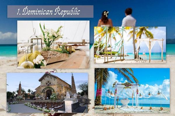 Cheapest Wedding Locations - Dominic Republic - A2zWeddingCards