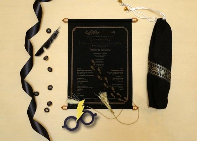 Wedding Invitations - Harry Potter Theme Wedding Ideas