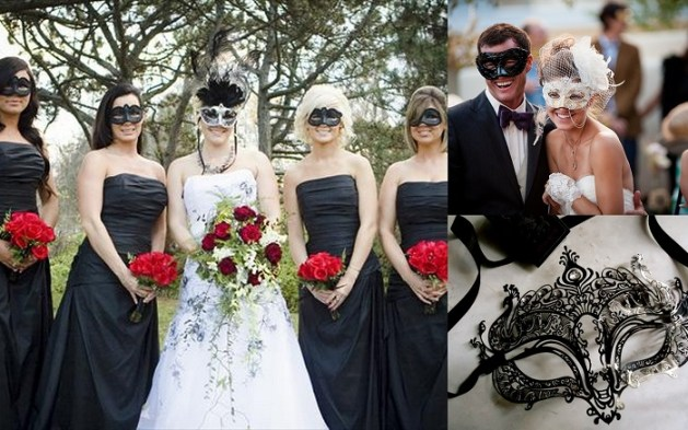 Dramatic & Fun Masquerade Ball Themed Wedding Ideas - 1 - A2zWeddingCards