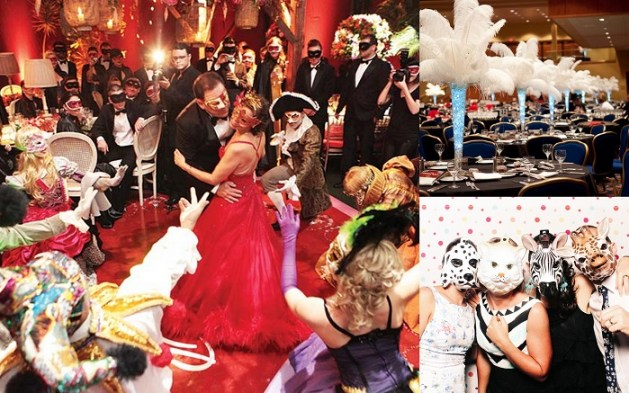 Dramatic & Fun Masquerade Ball Themed Wedding Ideas - 2 -A2zWeddingCards