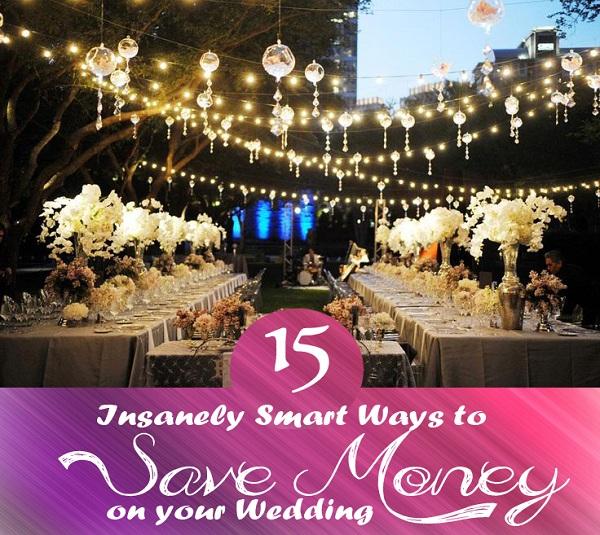 15 Ways to save money - A2zWeddingCards