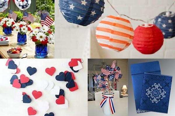 4th of july wedding decorations - A2zWeddingCards