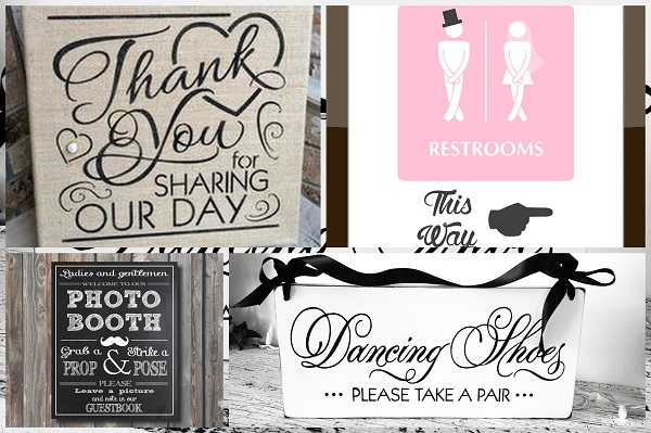 Amazing Wedding Signs - A2zWeddingCards