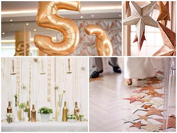 Glistering glitter Wedding Decor - A2zWeddingCards