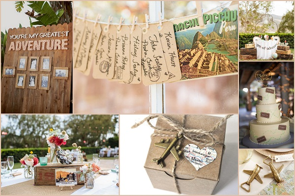 The adventure trip wedding theme - A2zWeddingCards