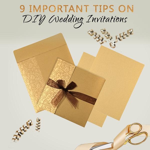 DIY Wedding Invitations - A2zWeddingCards