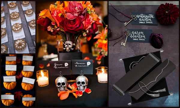 Halloween Escort/Wedding Cards - A2zWeddingCards