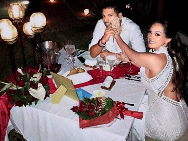 Yuvraj Singh Hazel Keech Wedding3