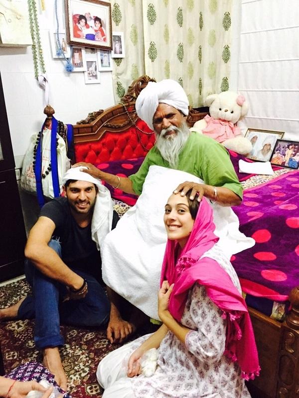 Yuvraj Singh Hazel Keech Wedding1