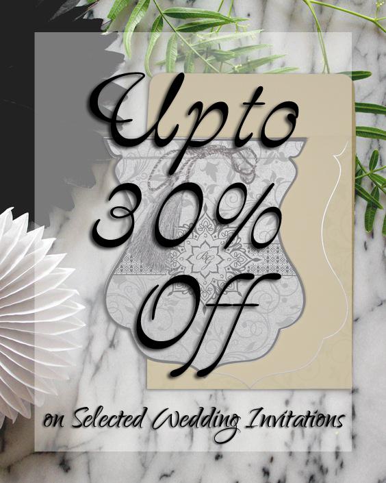 Winter Wedding Invitations Offers - A2zWeddingCards