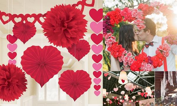 4. Valentine Wedding Decor - A2zWeddingCards