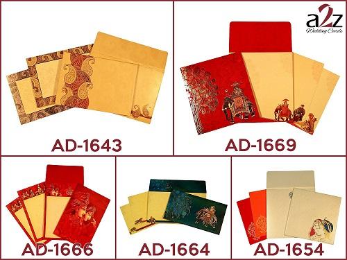 6. Royal Rajasthani wedding invitations - A2zWeddingCards