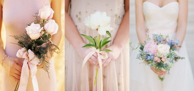 Simple and Dramatic Bridal Bouquet