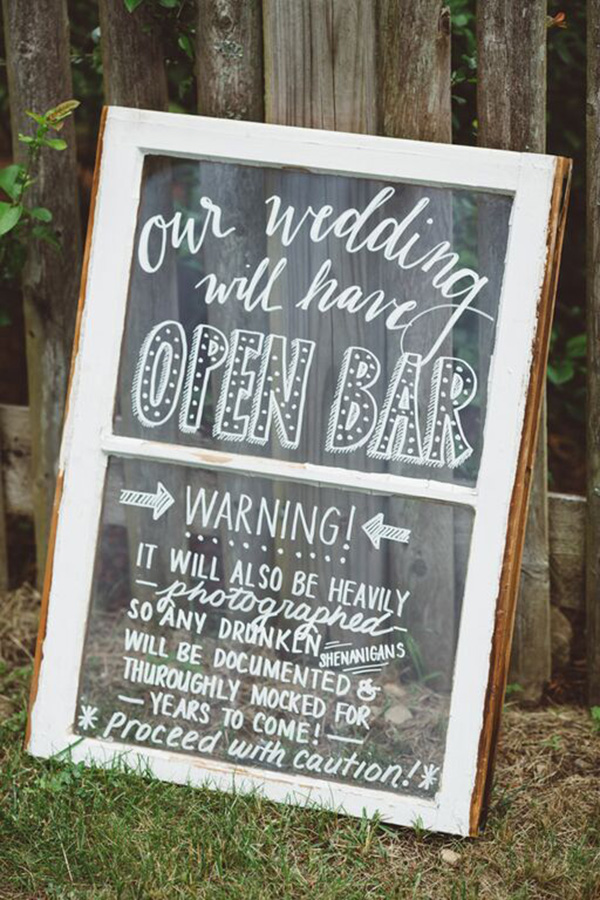 rustic-wedding-sign-boards-backyard-wedding-A2zWeddingCards