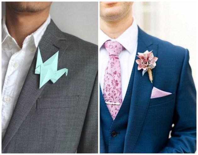 Origami-Wedding-Boutounire-A2zWeddingCards