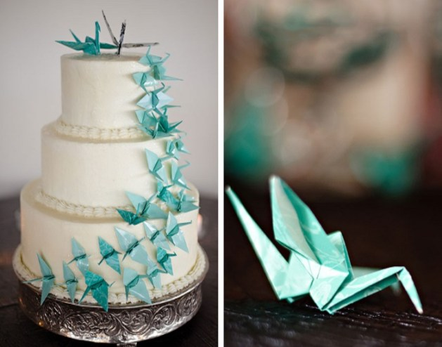 Origami-Wedding-Cake-Decor-Ideas-A2zWeddingCards