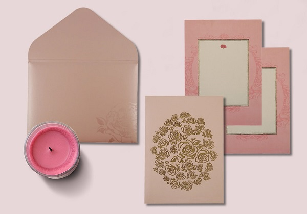 Alluring pink passion- AD-1597- A2zWeddingCards