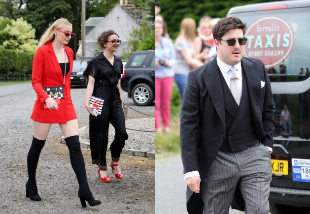 Kit Harington and Rose Leslie's Wedding 15