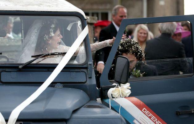 Kit Harington and Rose Leslie's Wedding 7