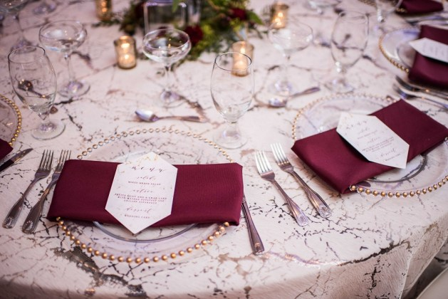 Marbel Wedding Table