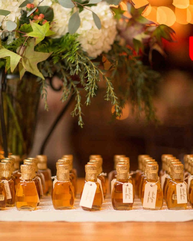 Inspired Autumn Wedding Favors