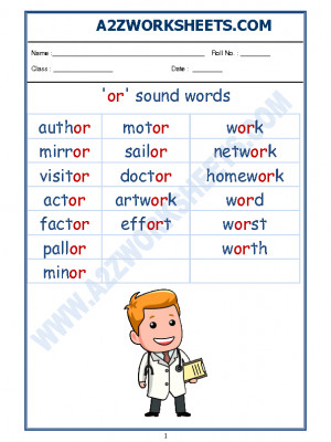 A2zworksheets Worksheet Of English Phonics Sounds