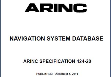 ARINC 424 Navigation Database Parser