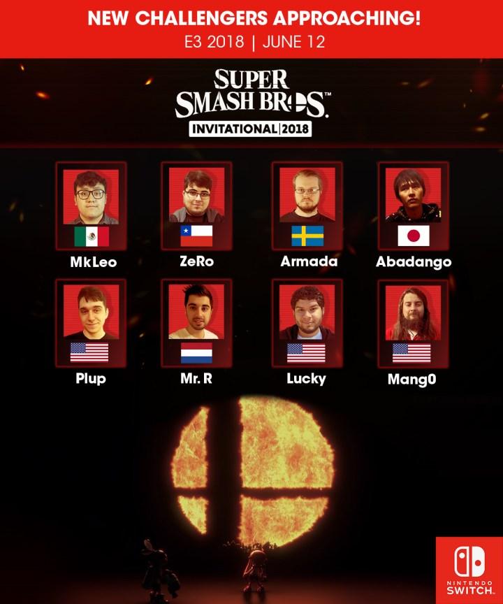 Super Smash Bros. Invitational 2018 Tournament