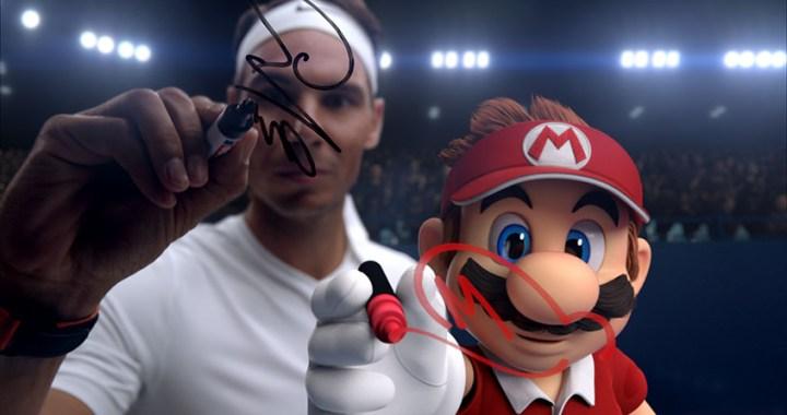 Tennis Superstar Rafael Nadal Takes on Video Game Superstar Mario in New Mario Tennis Aces Trailer