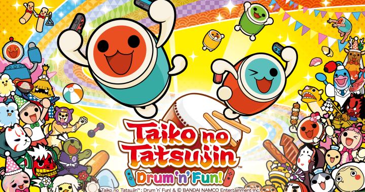 Taiko no Tatsujin: Drum 'n' Fun! for Nintendo Switch® and Taiko no Tatsujin: Drum Session! for PlayStation®4