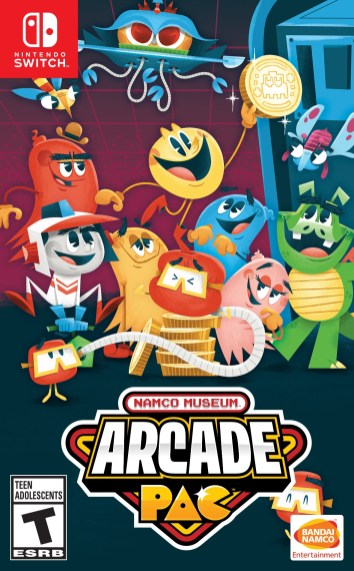 Namco Museum Arcade Pac Box art