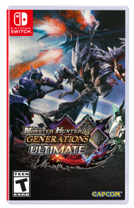 Monster Hunter Generations Ultimate Packshot