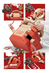 Nintendo Labo: Vehicle Kit Car