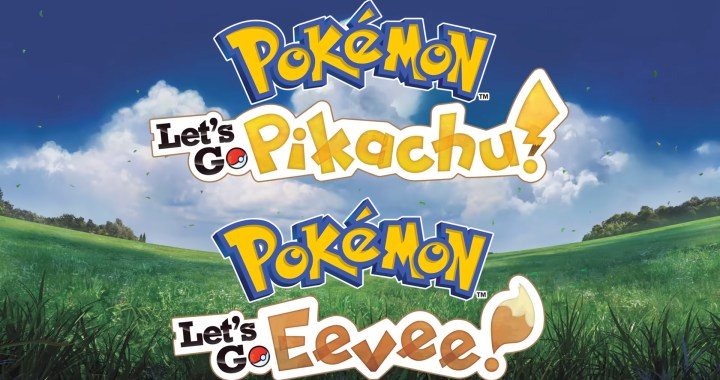 Pokémon: Let's Go, Pikachu! and Pokémon: Let's Go, Eevee!,