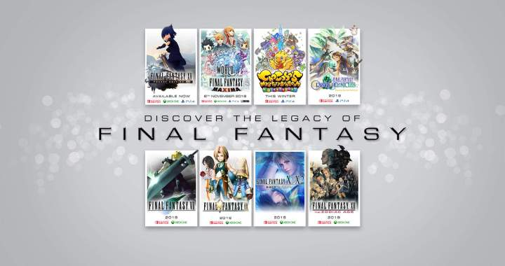DISCOVER THE LEGACY OF FINAL FANTASY