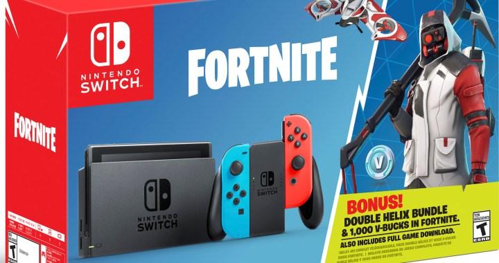 Nintendo Switch: Fortnite – Double Helix Bundle