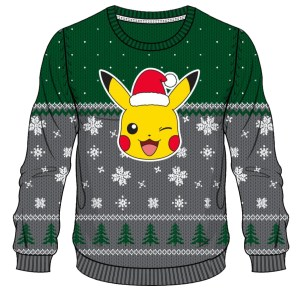 Pokemon All I want for Christmas is Chusweater