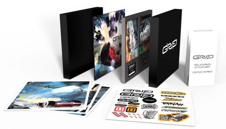 GRIP: Combat Racing Limited Collector's Edition