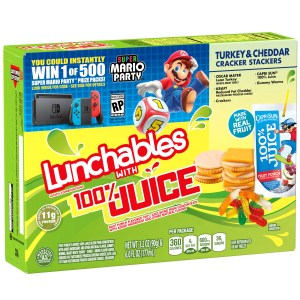 Super Mario Party with Lunchables