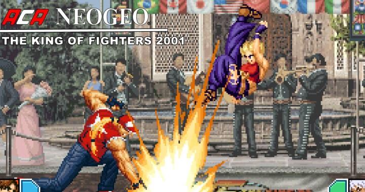 ACA NEOGEO THE KING OF FIGHTERS 2001